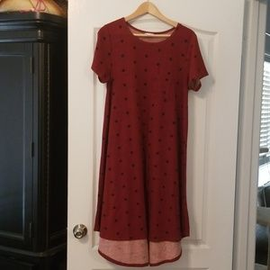 LuLaRoe Carly Dress M